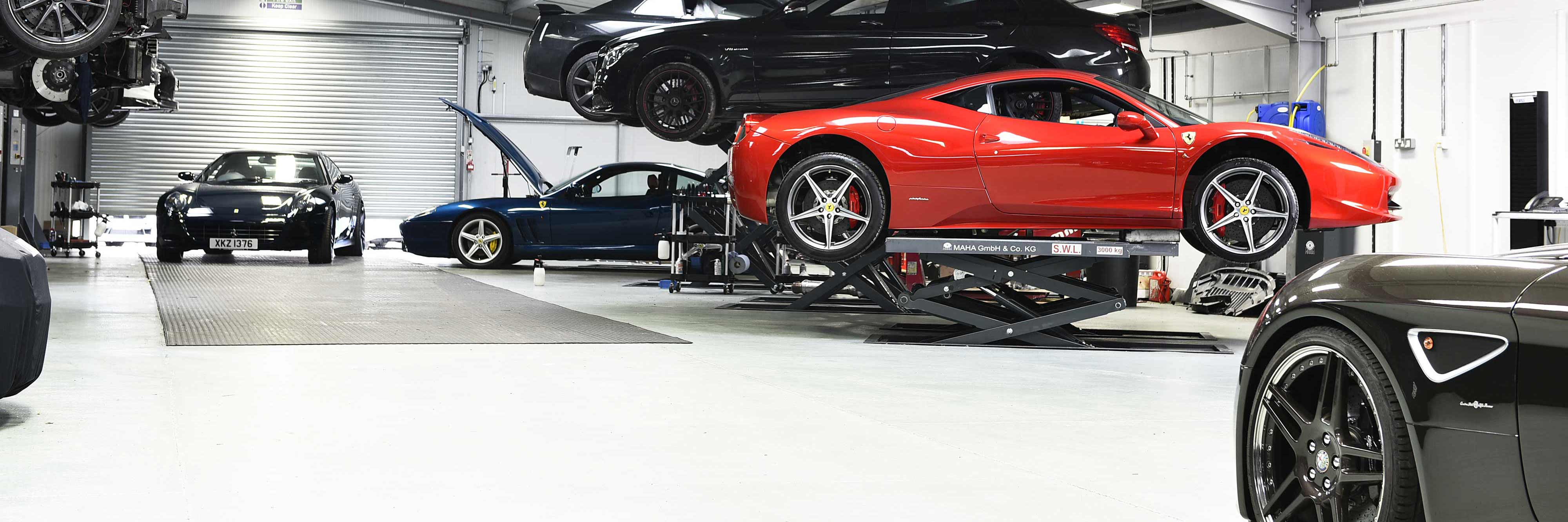 Ferrari 458 Litchfield Workshop