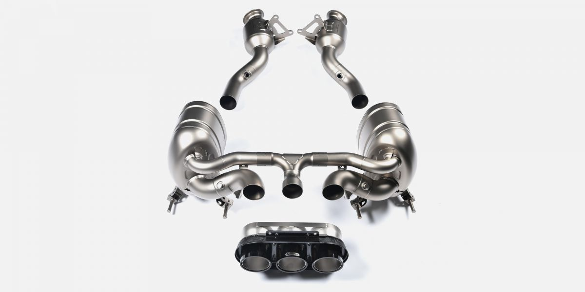 ferrari 458 Akrapovic exhaust