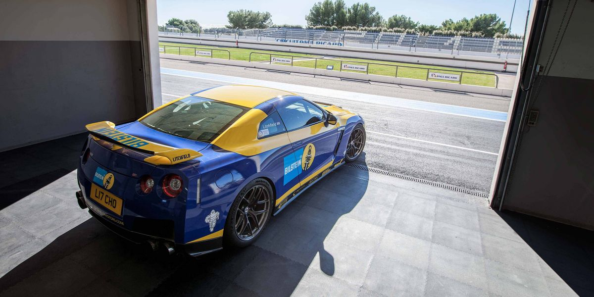 GTR ECU tuning/testing at Paul Ricard
