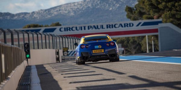 GTR ECU tuning at Paul Ricard Circuit 1