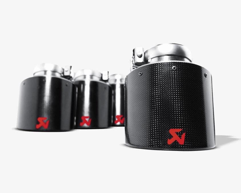 GTR Akrapovic Exhausts
