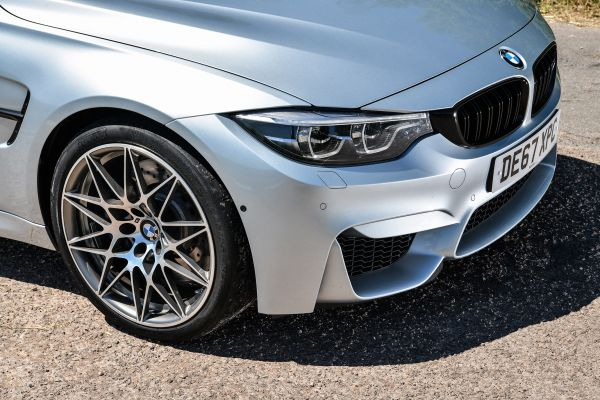 BMW M3 paint protection spray
