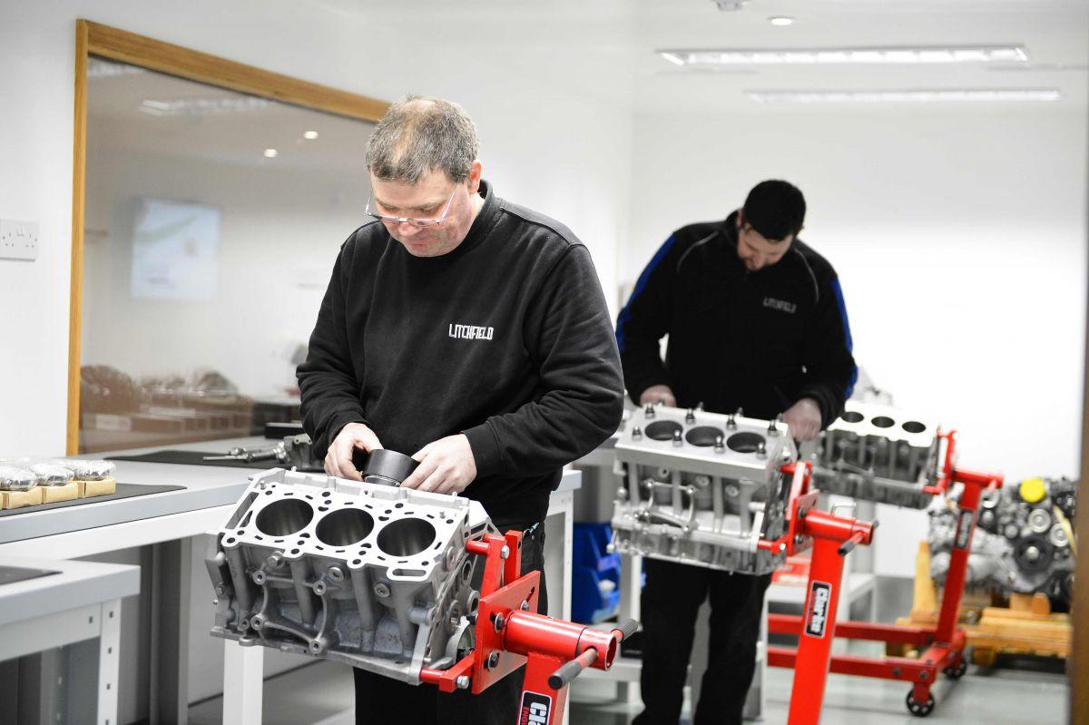 Litchfield Engine Build Clean Room