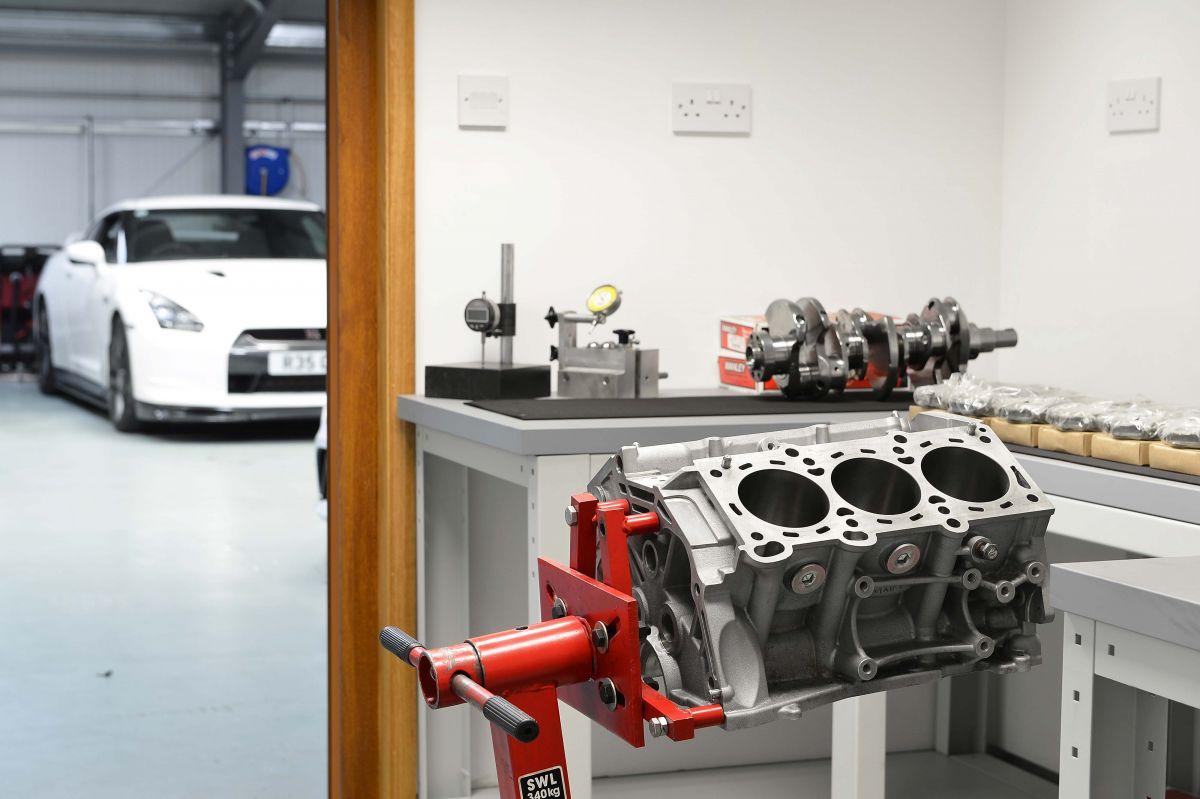 Engine Clean room