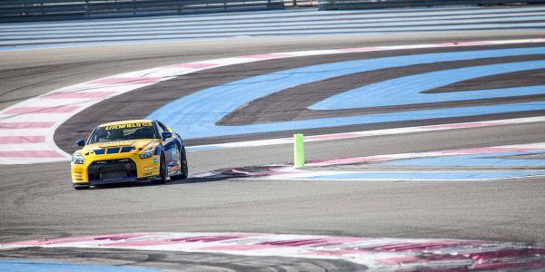 GTR ECU tuning at Paul Ricard Circuit 2