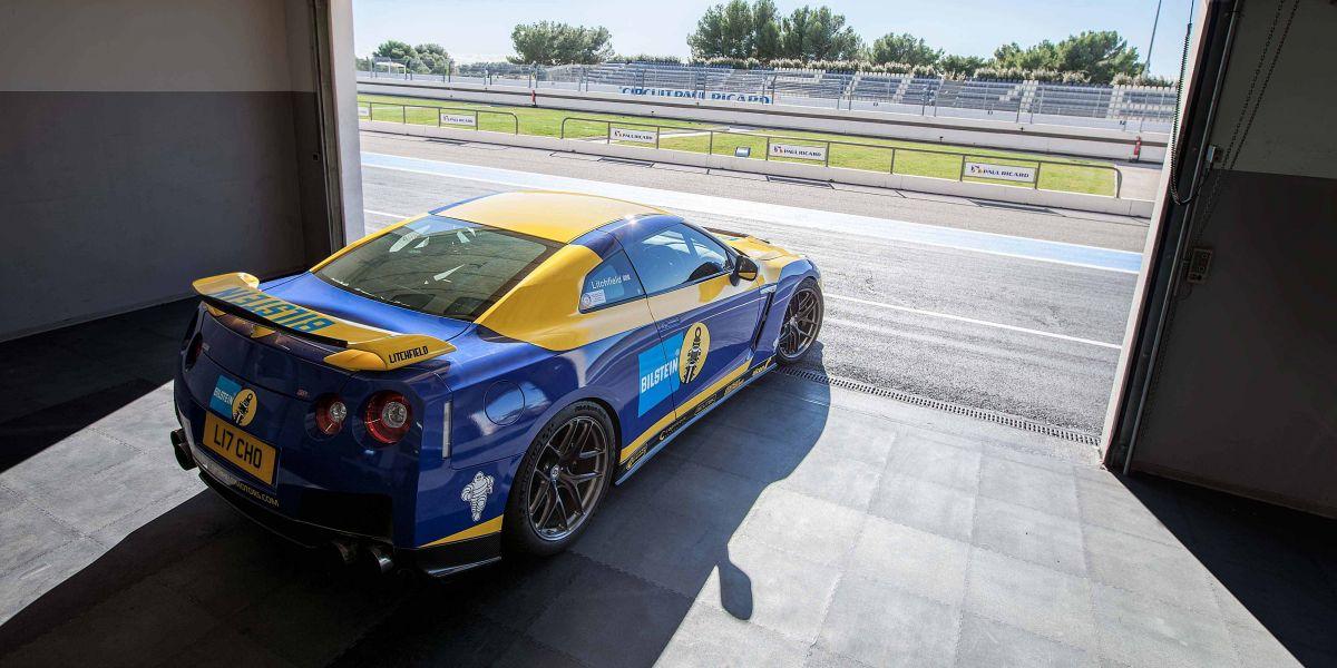 GTR ECU tuning/testing at Paul Ricard