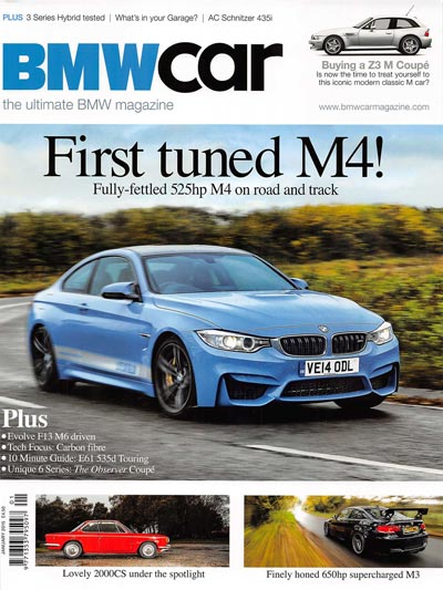 BMW Car magazine 1