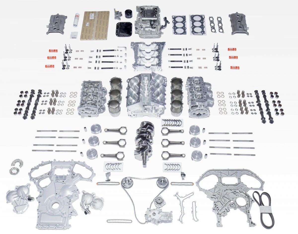 Litchfield GTR Billet Race Engine