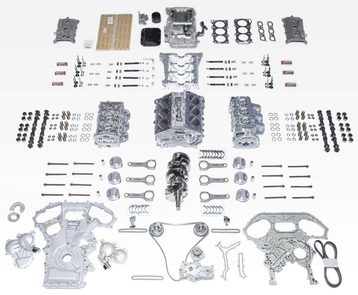 Litchfield GTR Sport engine