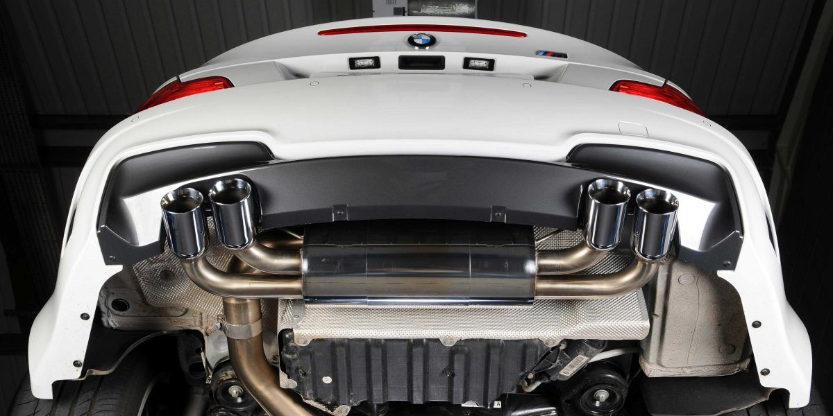 BMW 1M Milltek Exhaust 1