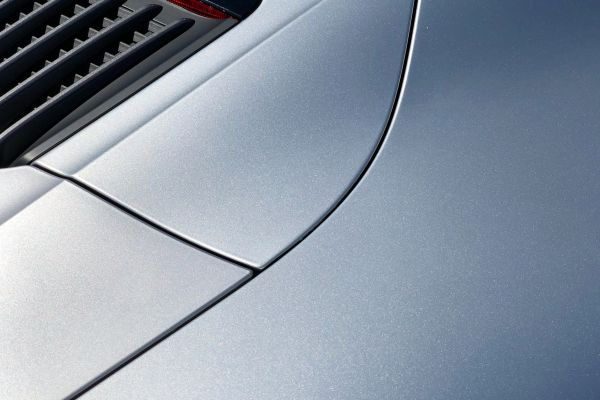 Close up of Porsche Carrera rear with High Gloss finish
