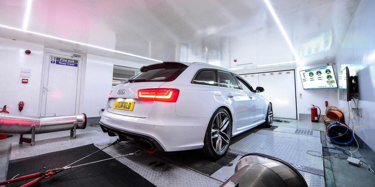 Audi RS6 Dyno 2