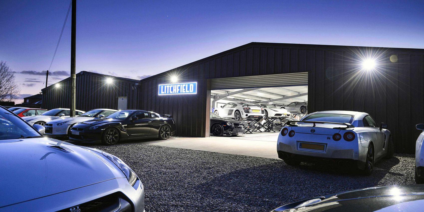 litchfield GTR servicing workshop