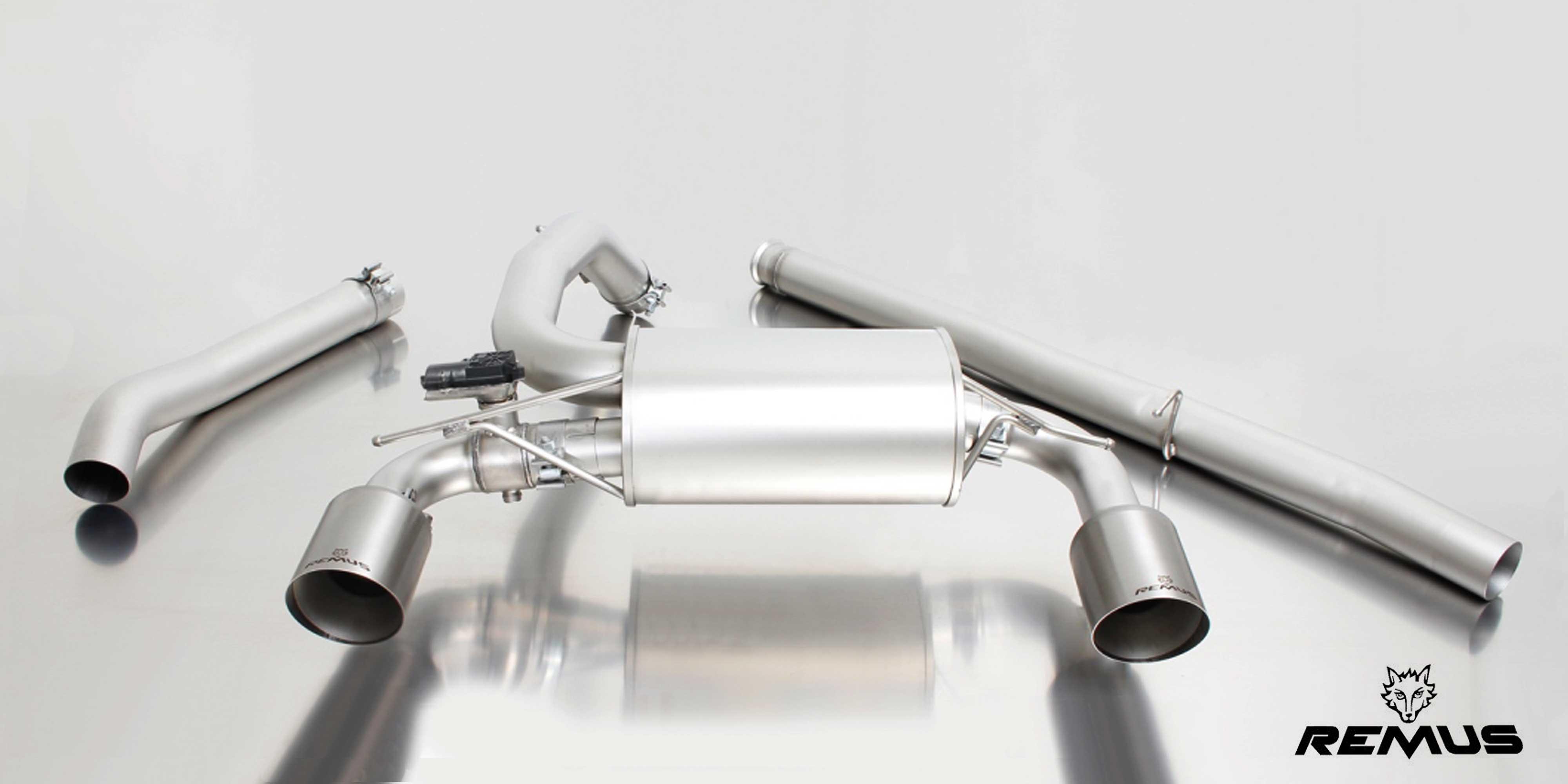 Focus RS Remus exhaust