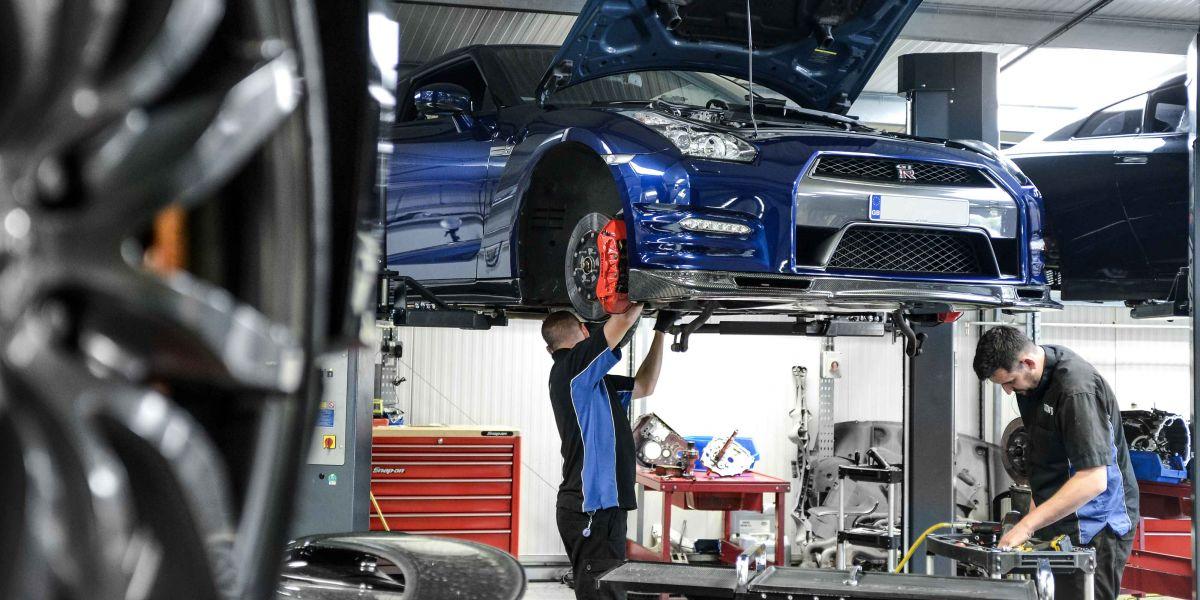 GTR handling kit fitting