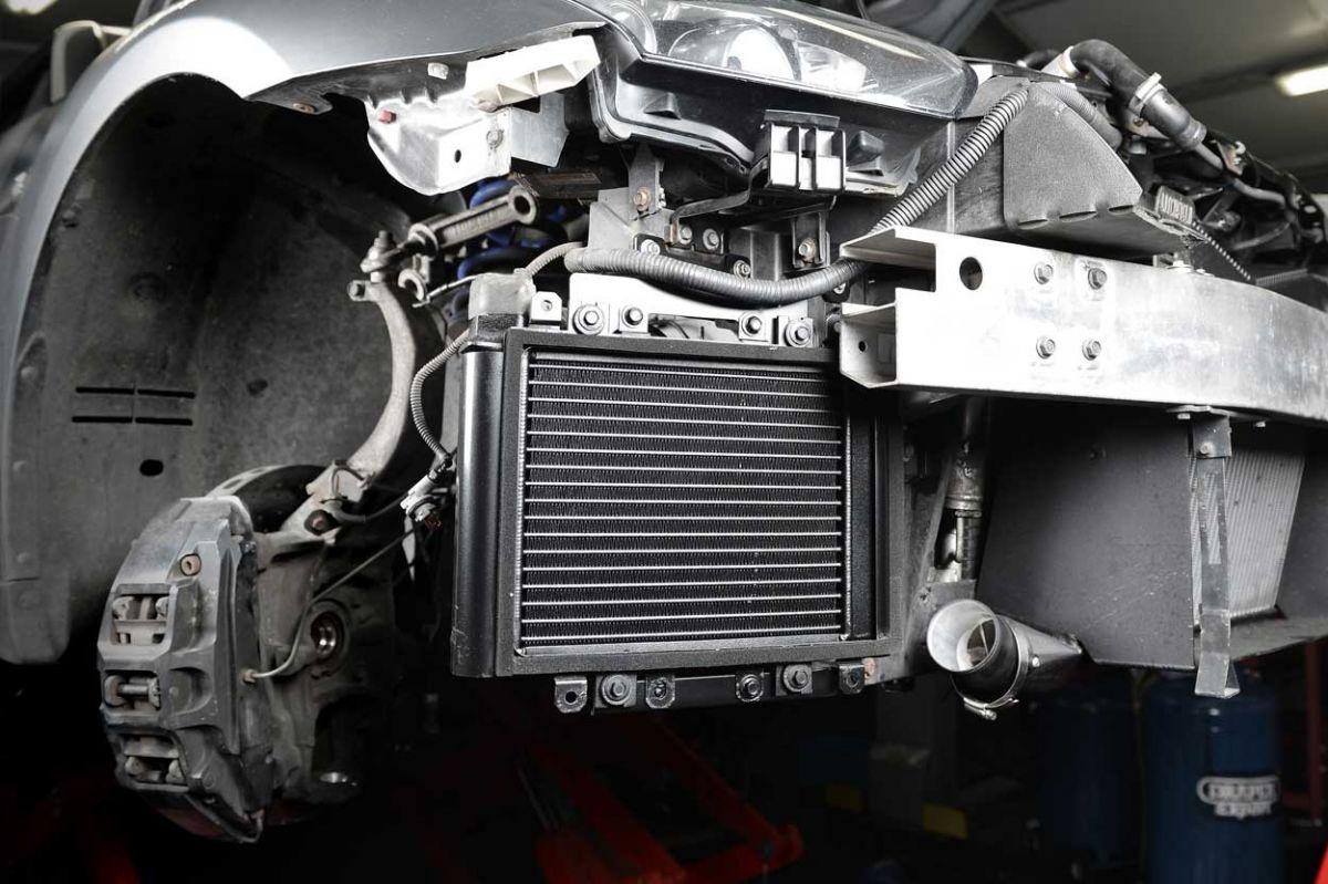 gtr oil cooler