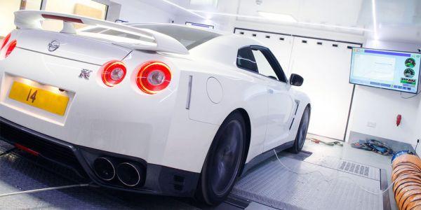 Nissan GTR dyno