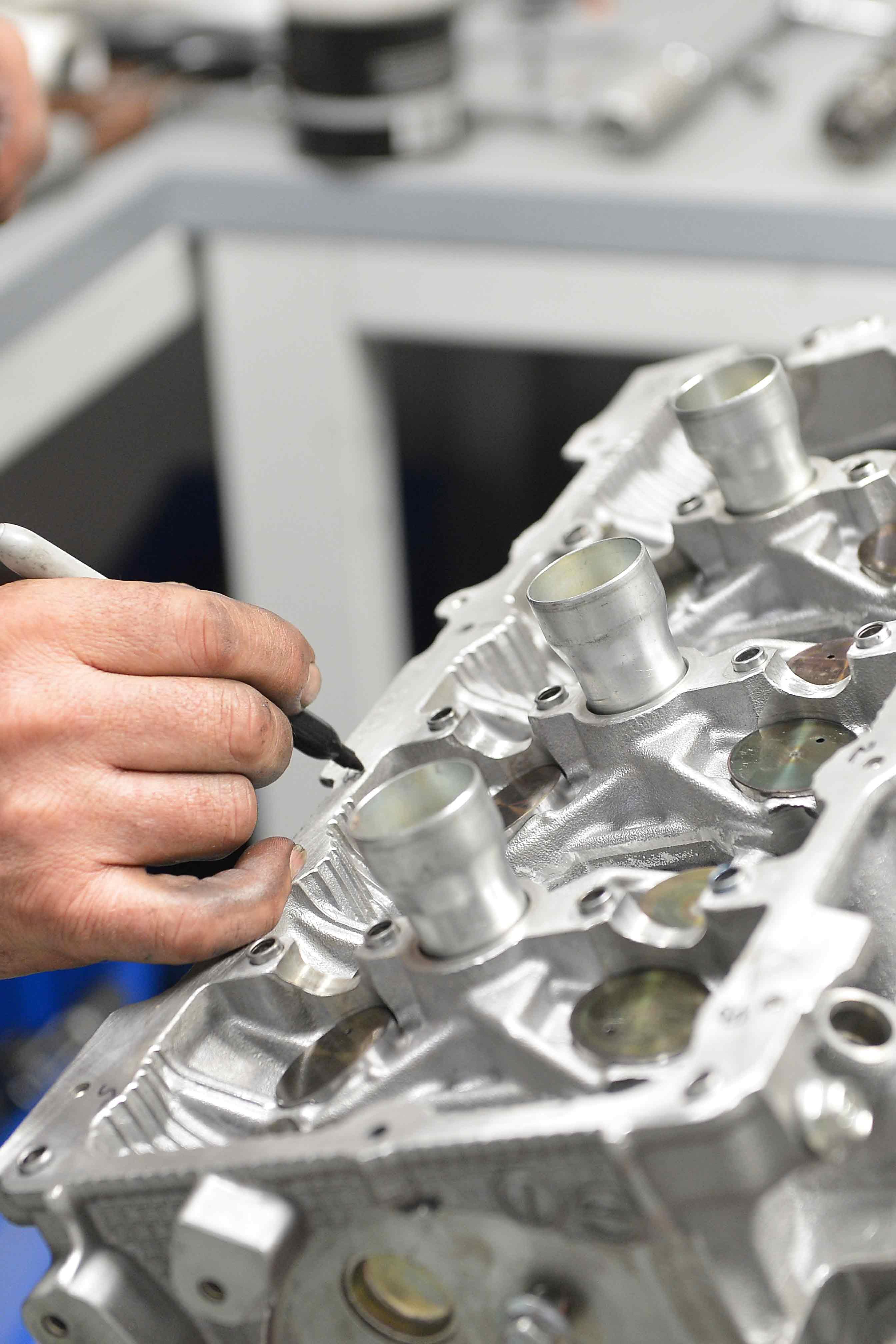 GTR valve bucket measurement