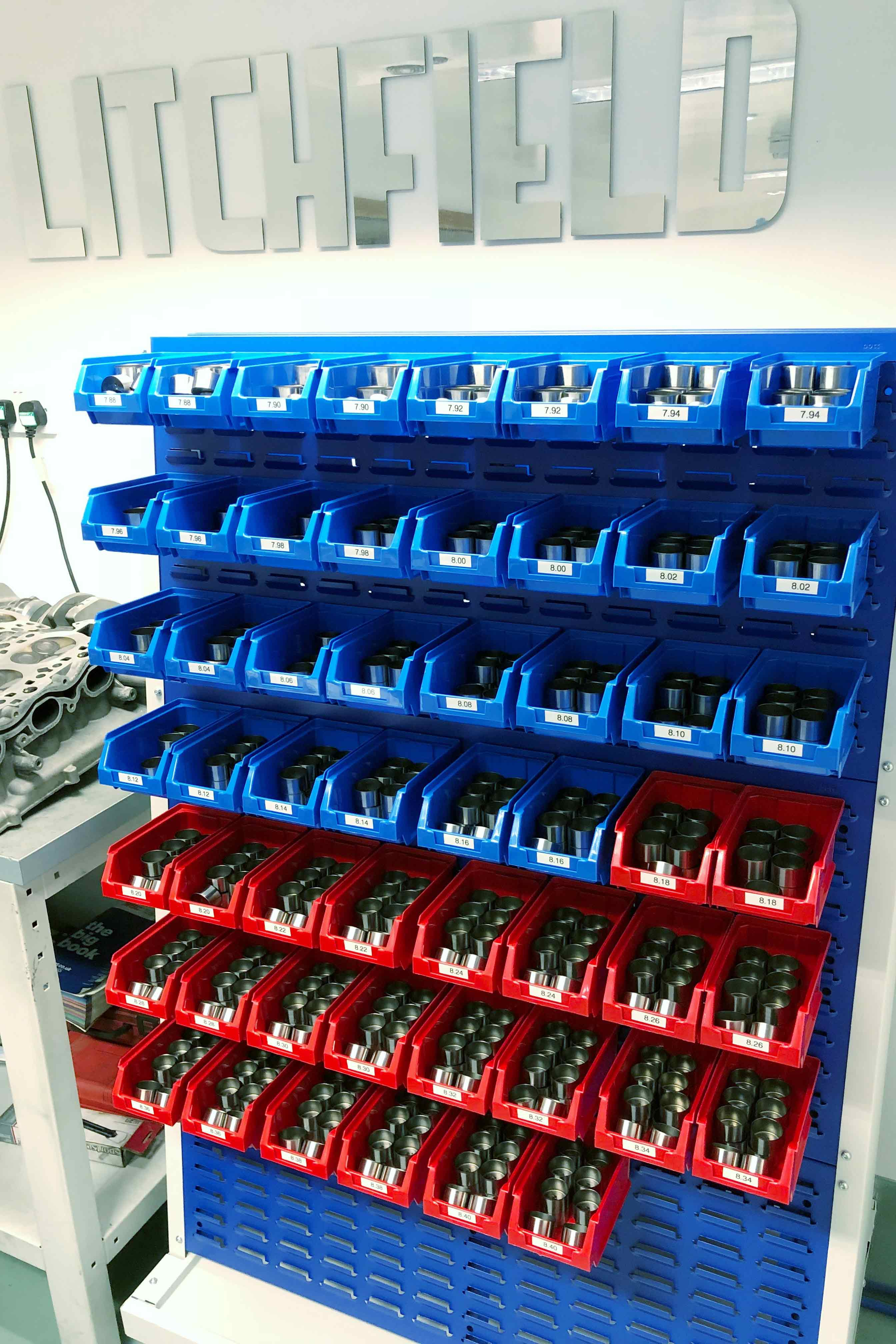 Nissan GTR valve buckets