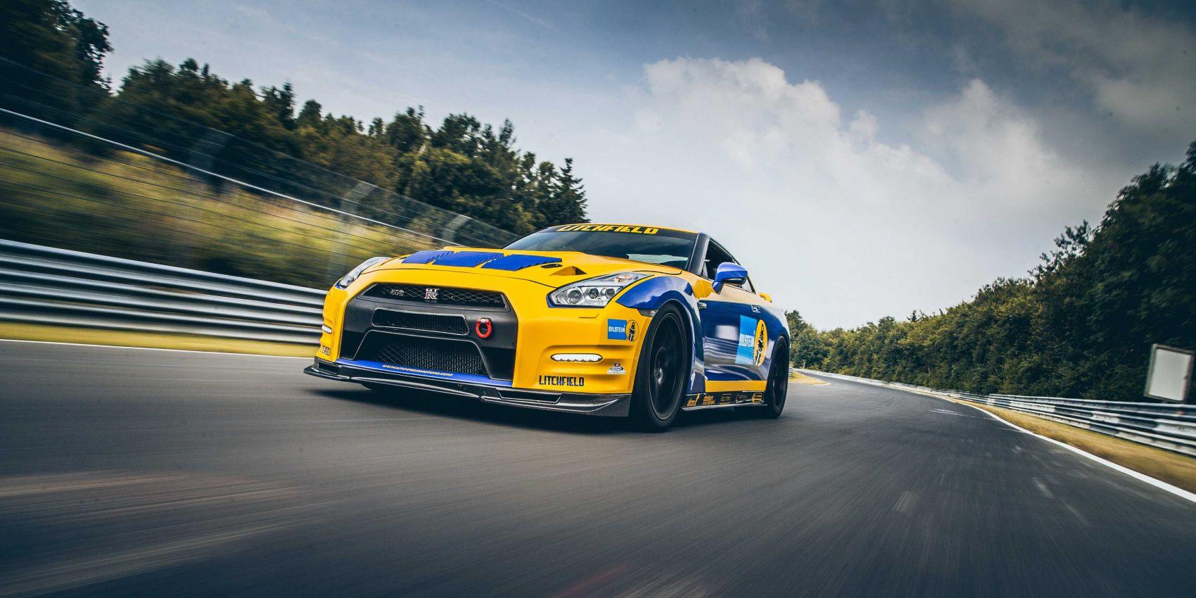 Nissan GTR tuning