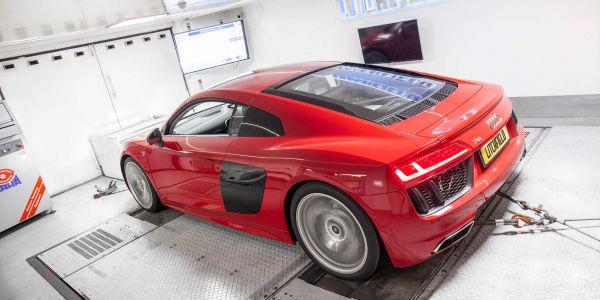 Audi R8 Dyno 1
