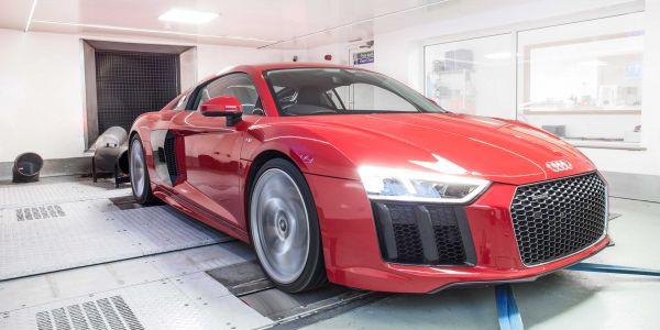 Audi R8 Dyno 2