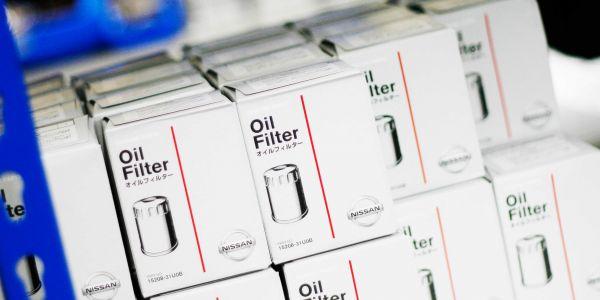 Nissan GTR oil filters