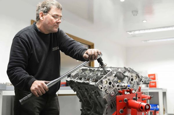 GTR engine build
