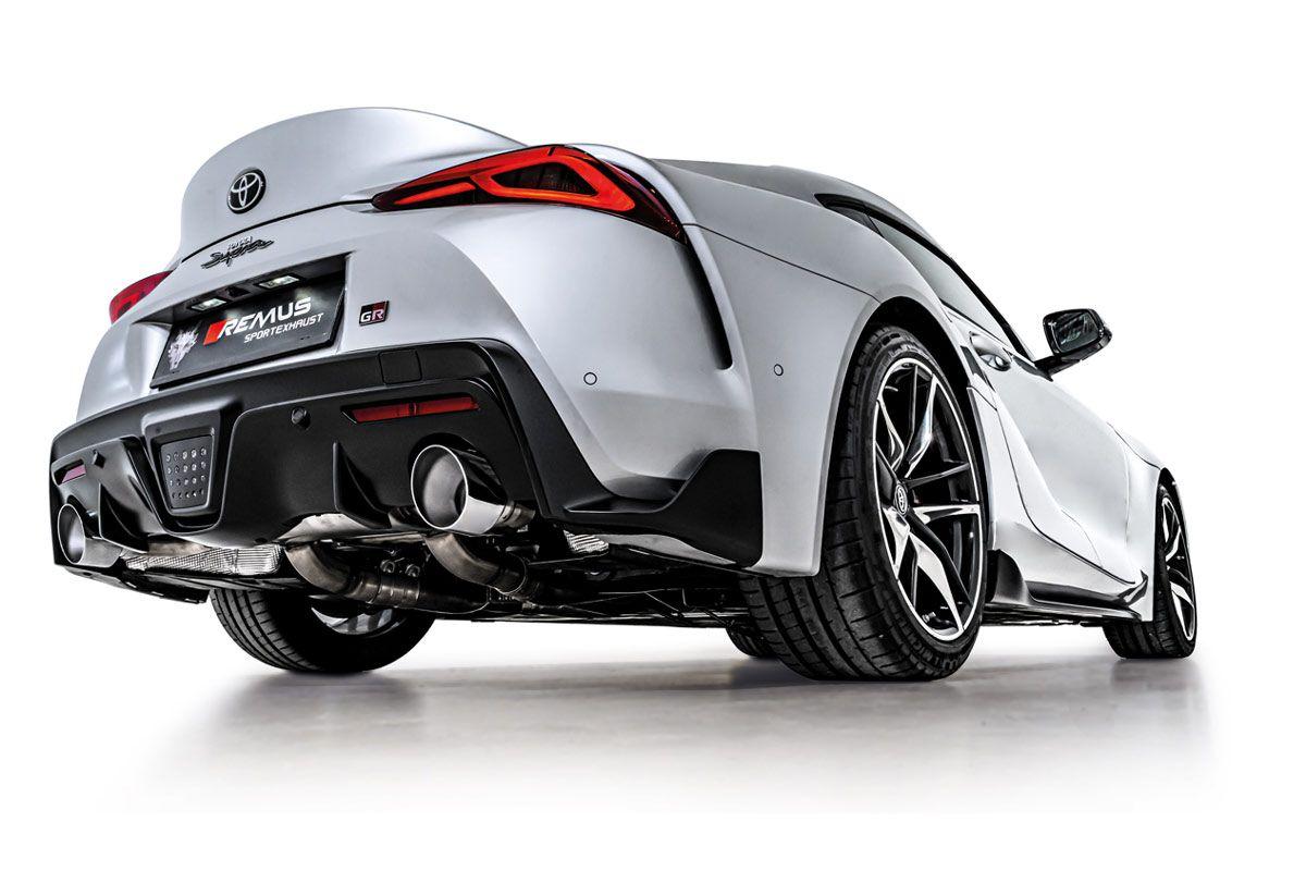 Toyota Supra Remus Exhaust 1