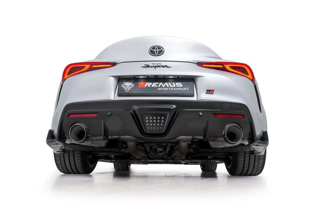 Toyota Supra Remus Exhaust 2